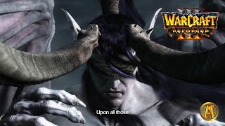 Illidan Summons Naga Cinematic - Tomb of Sargeras - All Cutscenes [Warcraft 3: Reforged]