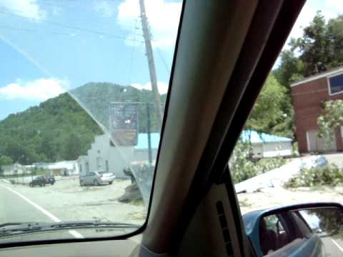 Weston, WV tornado aftermath 1