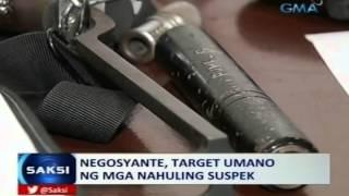 Saksi: 4 na lalaking may armas at pampasabog, arestado