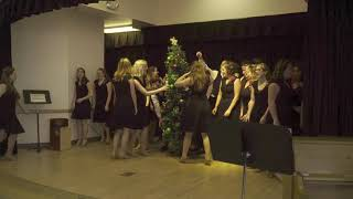 """Hillcrest High's student choir performing """"We Need a Little Christmas"""""""