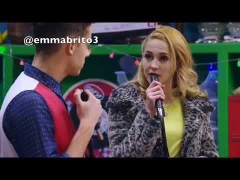 """Violetta 3 - Federico y Ludmila cantan """"si es por amor"""" (03x57)"""