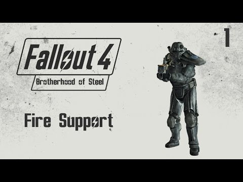 Fallout 4 Brotherhood of Steel Quest Guide - Fire Support - (1)