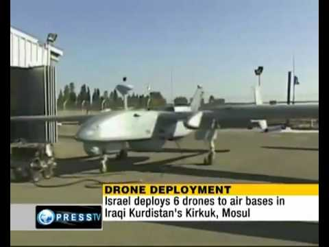 Israel Deploys Drones In Iraq.