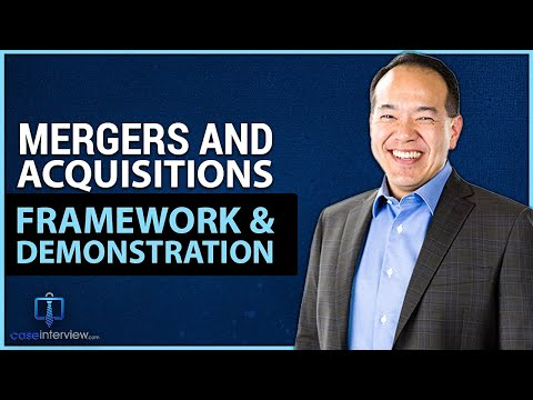 Mergers and Acquisition Case Interview Demo (Video 11 of 12)