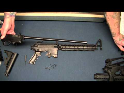 Mossberg tactical 22 disassembly