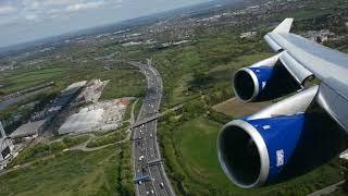 MUST WATCH!!! RB211 POWER!!! BRITSH 747 TAKEOFF