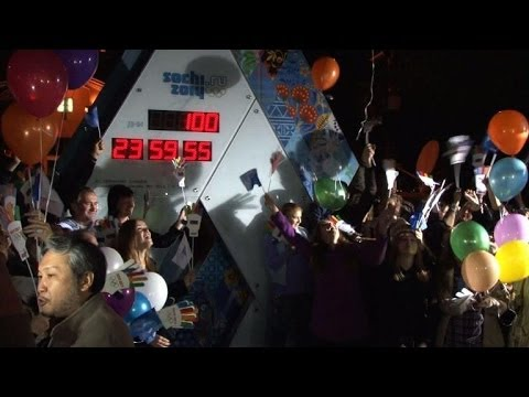 Countdown begins: 100 days to Sochi Winter Olympics