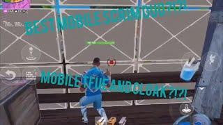 My first ever pro mobile scrim?!?!? | Fortnite Mobile Pro Scrim | M4L Tryout Link In The Description