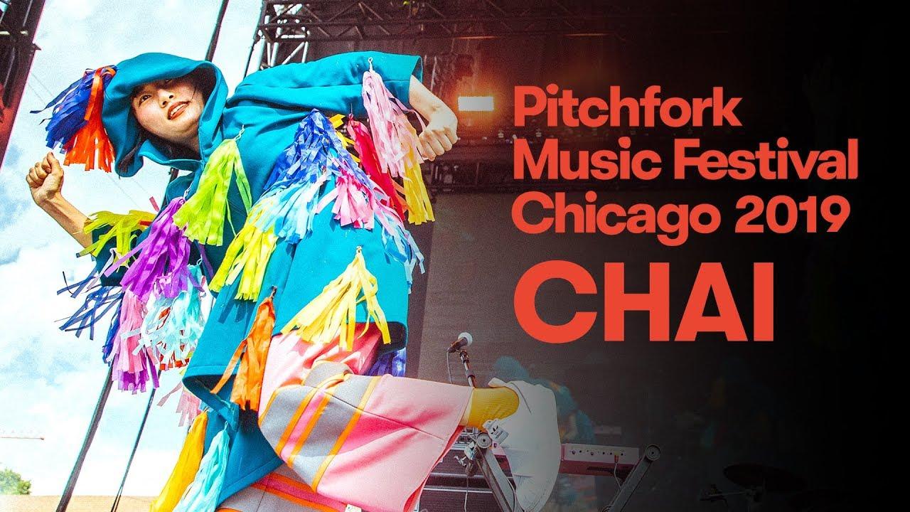 CHAI - 「Pitchfork Music Festival 2019」フルライブ映像(4K)約43分を公開 thm Music info Clip