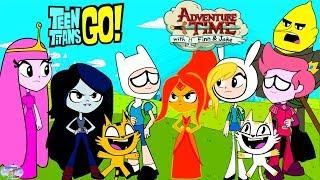 Teen Titans Go! Color Swap Transforms Raven Adventure Time Finn Surprise Egg and Toy Collector SETC
