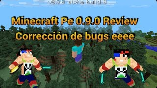 Minecraft pe 0.9.0 alpha 8 Review