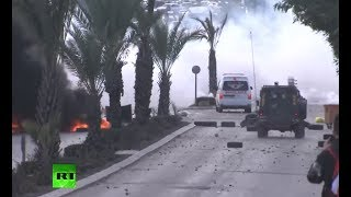 Clashes in West Bank following Trump's 'Jerusalem move'