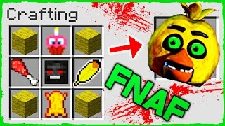 Minecraft FNAF - How to Summon CHICA in a Crafting Table!