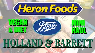 VEGAN 2020 | Heron Foods Mini Haul & Vegan Slimfast sale at Boots | Come Shopping With Me!