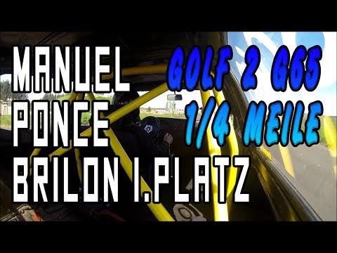 VW Golf 2 G65 Manuel Ponce - Flugplatz Brilon-Thülen 1.Platz | www.g65-lader.de