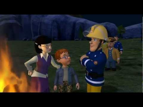 Fireman Sam gives a Bonfire Night message to the children of Wales