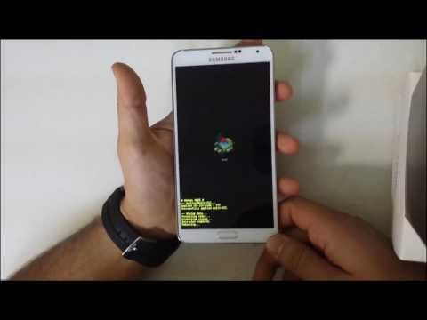 How To Reset Samsung Galaxy Note 3 III SM N900 - Hard Reset and Soft Reset