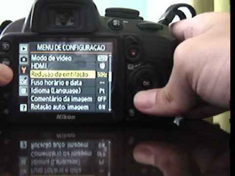 Nikon D3100 portugu