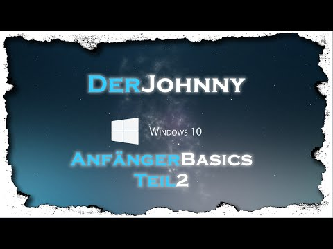 Windows 10 Tutorial | Anfänger Basics 2 | Deutsch (German)