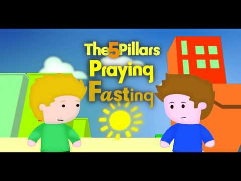 5 Pillars Part 02 - Cartoon For Primary Schools By Discover Islam Uk video