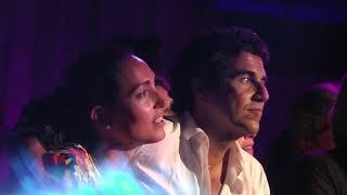 Caterina Balivo al concerto di Peppino Di Capri