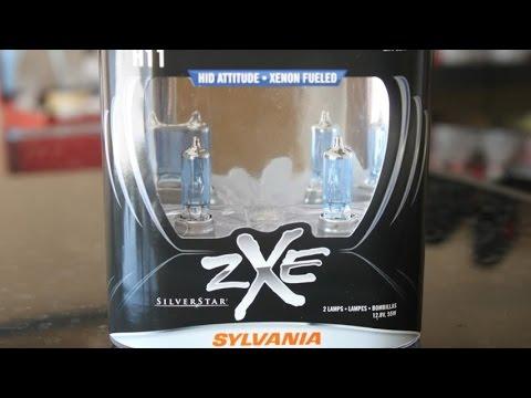 Sylvania SilverStar ZXE Headlights Experience