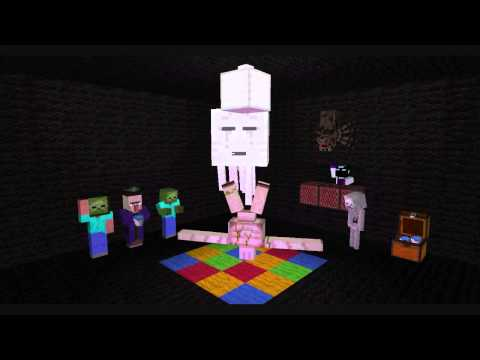 minecraft mob party minecraft animation