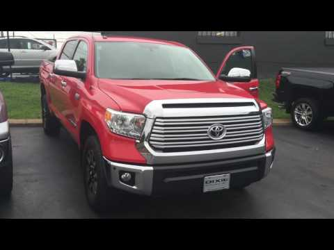 2014 Toyota Tundra Ltd low miles