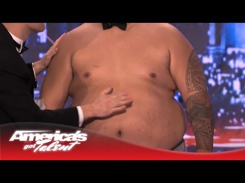 Tummy Talk - Nick Cannon Joins In to Make Music - America's Got Talent 2013