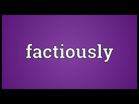 Header of factiously