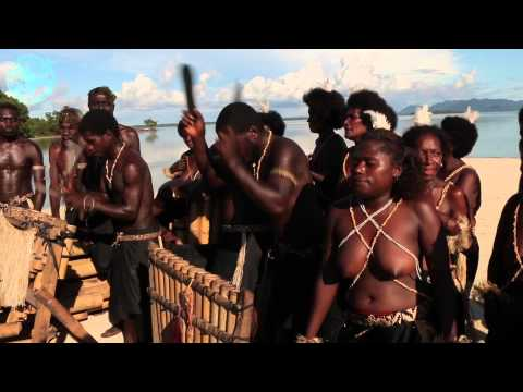 A Bamboo Band in Bougainville