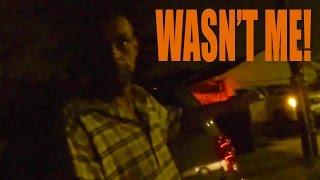 BIKER CONFRONTS A THIEF - HELP US CATCH HIM!!!