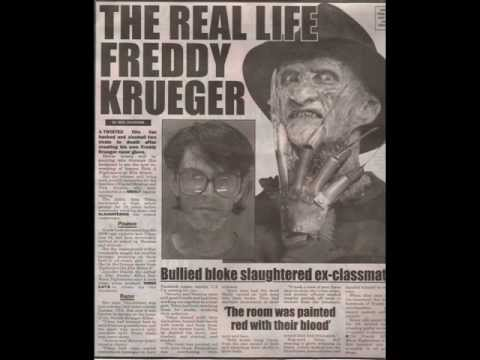 Freddy Krueger Real Life The Real Life Freddy Krueger