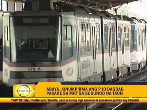 MRT fare hike sparks protests