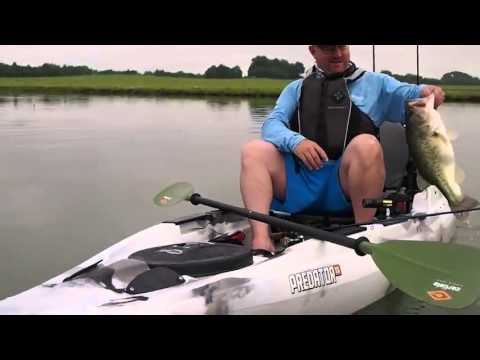 Old Town Predator 13 Angler Sit On top Fishing Kayak