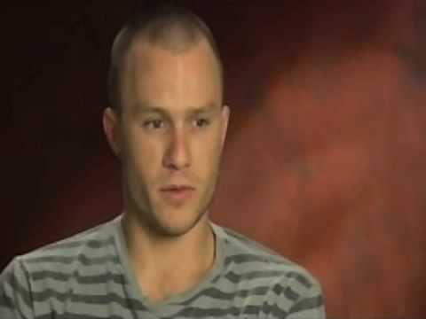 HEATH LEDGER Interview (Brothers Grimm)