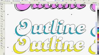 CorelDRAW -Outline Pen- kullanımı