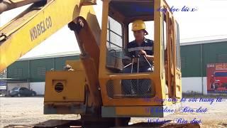 Cách học lái xe xúc - dạy lái máy xúc gồm xúc lật, xúc đào