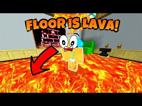 NOOB PLAYS THE FLOOR IS LAVA CHALLENGE IN MINECRAFT!! (Tagalog Version) *EXTREME*
