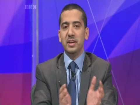 Mehdi Hasan - Question Time part 2 of 6 10.02.11