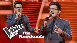 Veenath Sathsara | Madari | Knockouts | The Voice Teens Sri Lanka