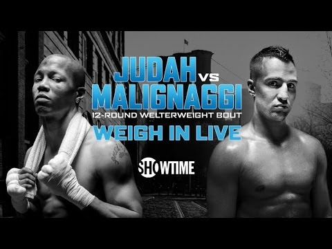 Live WeighIn Judah vs Malignaggi  Alexander vs Porter  Lara vs Trout  SHOWTIME