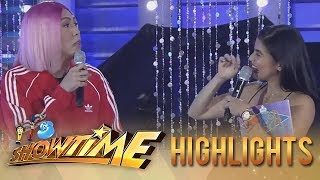 It's Showtime Miss Q & A: Vice tells Anne that she's not in the zone