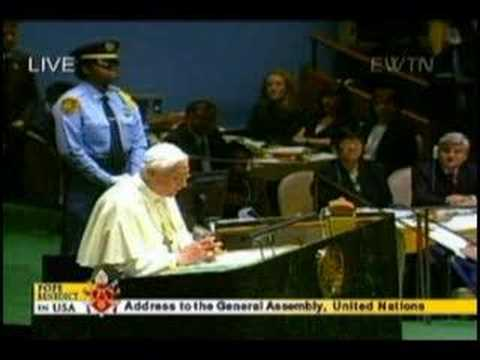 Benedict XVI at the United Nations