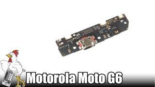 Guía del Motorola Moto G6 Play: Cambiar placa auxiliar