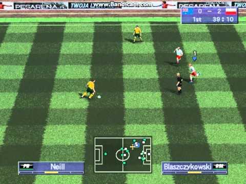 [GPS] Pro Evolution Soccer 4 | MŚ - Polska 4:0 Australia Cały Mecz