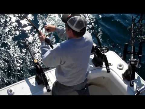 Lake Michigan Salmon Fishing Sheboygan June 3, 2012
