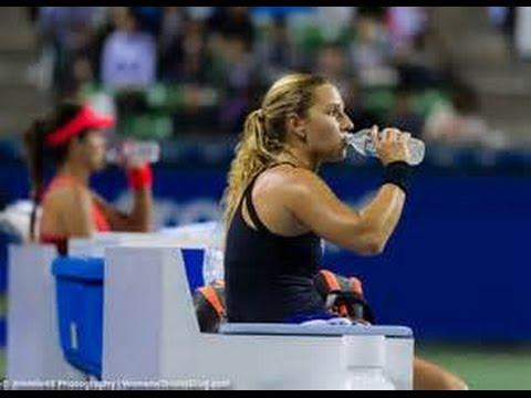 Agnieszka Radwanska vs Dominika Cibulkova Semifinal WTA Tokyo 2015