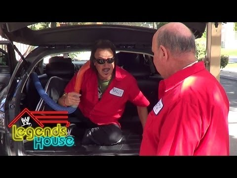 Team Okerlund shows off their local TV commercial: WWE Legends' House, May 1, 2014