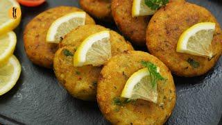 Crispy Aloo Tikki Recipe By Food Fusion (Ramzan Special)